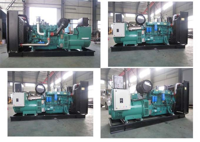 Back Up Weichai Generator Set  Water Cooling H Insulation Class 150kw