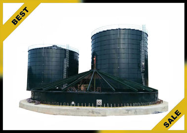 China Self - Locking Bolt Biogas Engineering Equipment With Special Steel Plate supplier