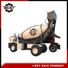 China Concrete mixer machine 5.5 cubic meters self loading concrete mixer truck for sale supplier
