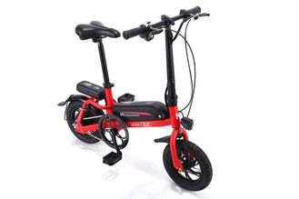 China 250-350w Power Small Lithium Electric Bike With Aluminum Alloy Saddle Tube supplier