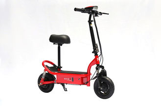 China Dual Motors 48v 350W Folding E Bike Two Wheel Powerful Scooter With Seat supplier