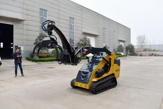 Backhoe Mini Rear Farm Excavator Diesel Loader With Telescopic Diggers