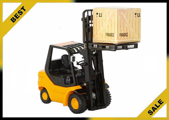 2 Ton Manual Fork Lift Trucks Hydraulic 3 Meter Lift Height With ...