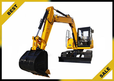 China 18.4kw Engine Power Mini Construction Equipment Excavator With 3 Cylinder High Performance distributor
