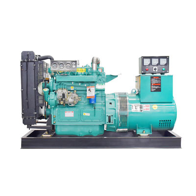 62.5kva 50kw Water Cooled Diesel Powered Generator With Pure Copper Brushless Alternator