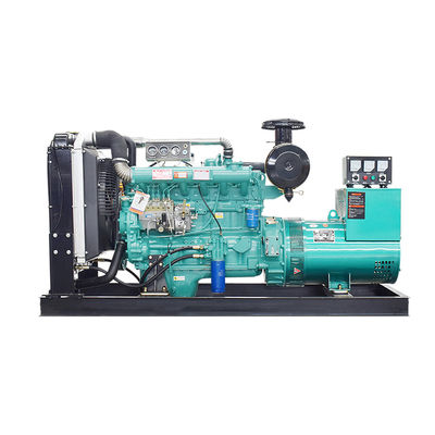 Water Cool Small 50HZ Diesel Power Generator Set Open Type Long Life Time