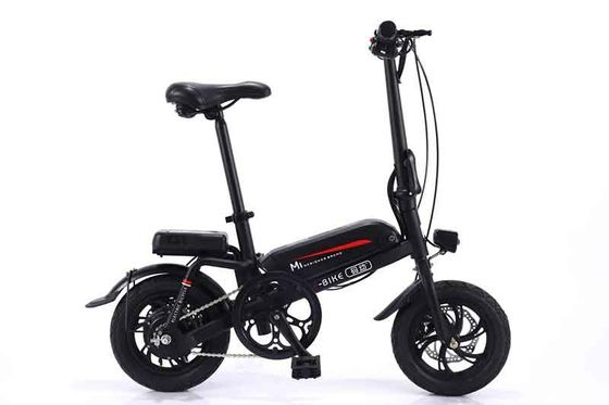 China Adult Black Color Mini Type Lithium Electric Bike For Riding Instead Of Walking factory