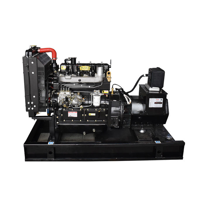 Open Power Generating Sets With Fuel Tank , 3 Phase Diesel Engine Generator